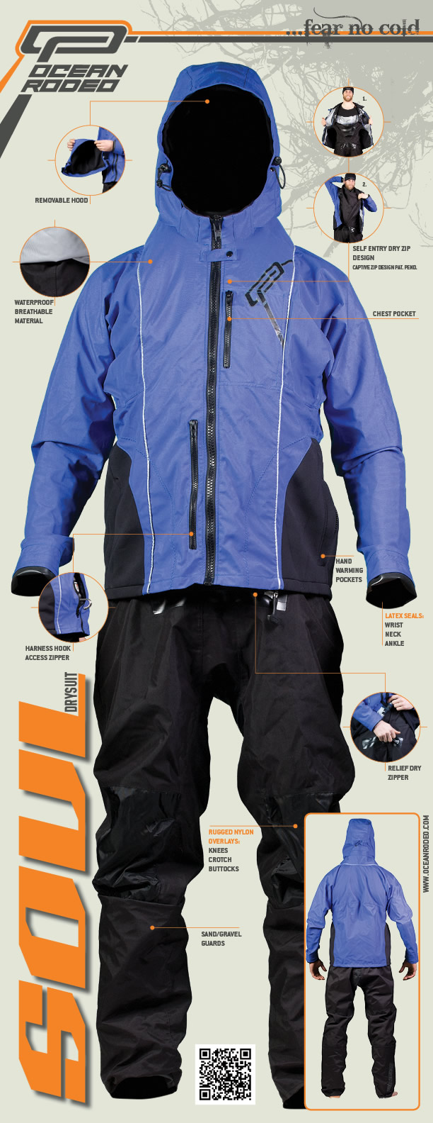 Ocean Rodeo Soul Drysuit for SUP