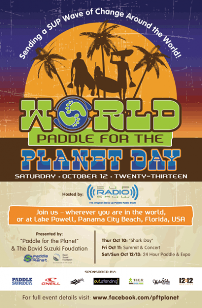 World Paddle for the Planet Day 2013