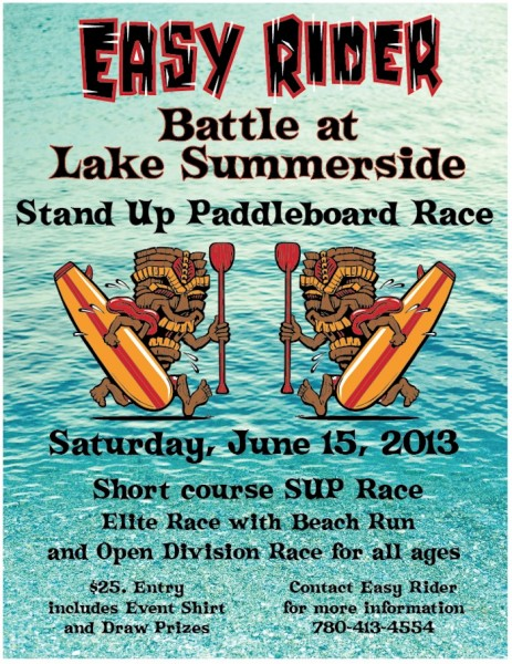 Battle at Lake Summerside SUP Race
