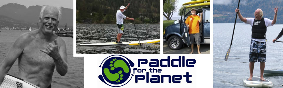 Thursday September 26th, 2013 is Day 1000 for Paddle for the Planet!