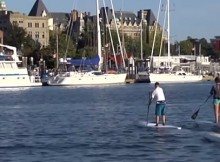 Standup Paddling in Victoria