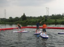 Easy Rider Edmonton does SUP Polo